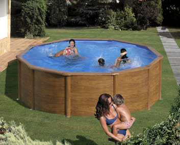 Verdeesvida piscinas desmontables en acero for Complementos piscinas desmontables