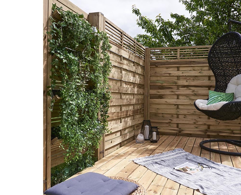 Verdeesvida huerto vertical de madera - Tiestos de madera ...
