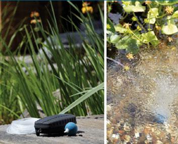 Verdeesvida aireador para un estanque peque o for Aireadores para estanques piscicolas