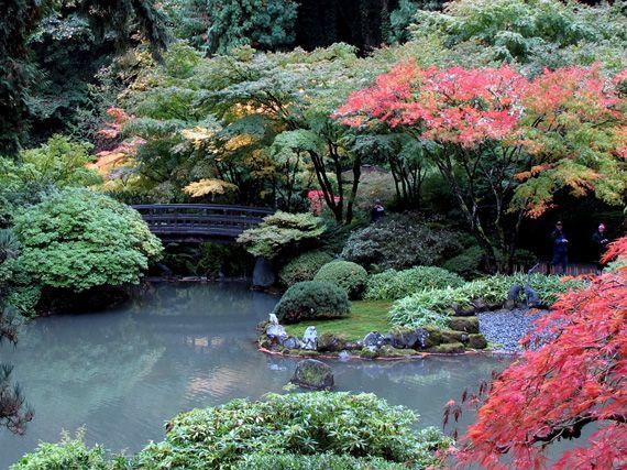 Verdeesvida jardines japoneses comuni n con la naturaleza for Estanques de plastico para jardin